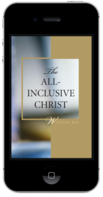 The All-Inclusive Christ